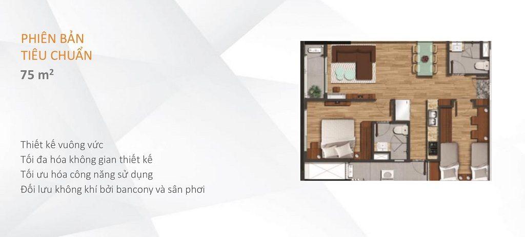 căn hộ flora akari city 75 m2
