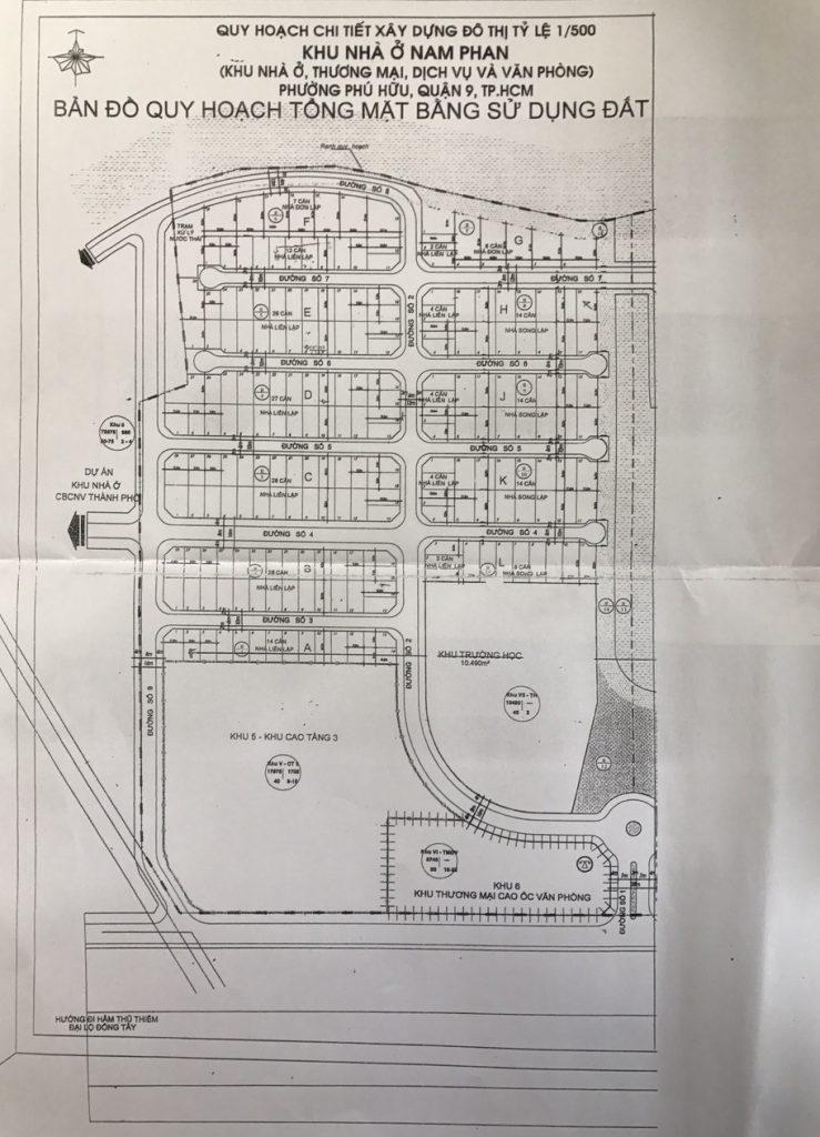 Đất nền Nam Phan quy hoạch 1-500