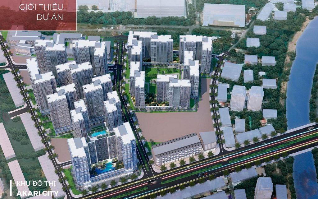 khu đôthị akari city