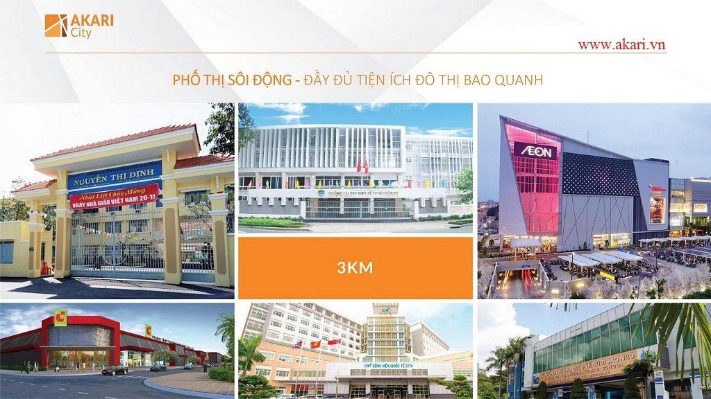 akari city ngoai khu